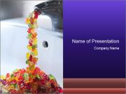 Jelly bears PowerPoint Templates