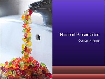 Jelly bears PowerPoint Template - Slide 1