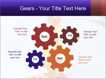 Jelly bears PowerPoint Template - Slide 47
