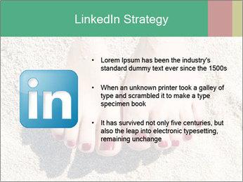 Female feet PowerPoint Template - Slide 12