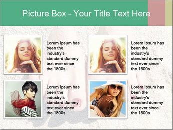 Female feet PowerPoint Template - Slide 14