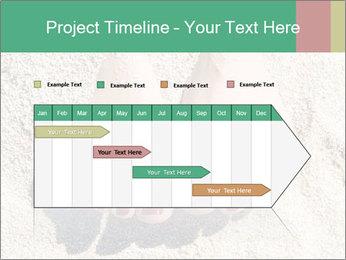 Female feet PowerPoint Template - Slide 25