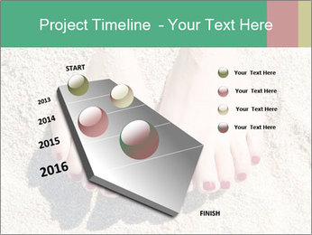 Female feet PowerPoint Template - Slide 26