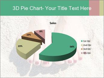 Female feet PowerPoint Template - Slide 35