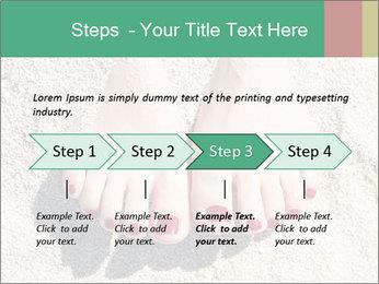 Female feet PowerPoint Template - Slide 4