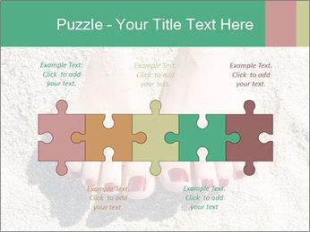 Female feet PowerPoint Template - Slide 41