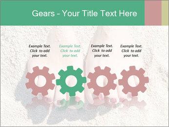 Female feet PowerPoint Template - Slide 48