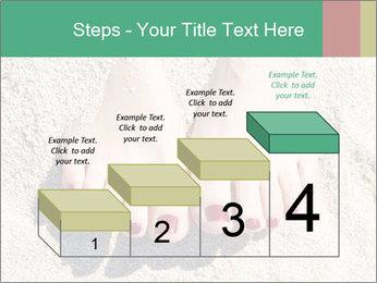 Female feet PowerPoint Template - Slide 64