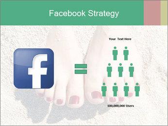 Female feet PowerPoint Template - Slide 7