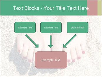 Female feet PowerPoint Template - Slide 70