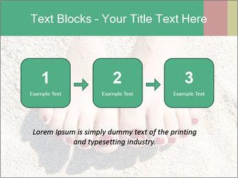 Female feet PowerPoint Template - Slide 71