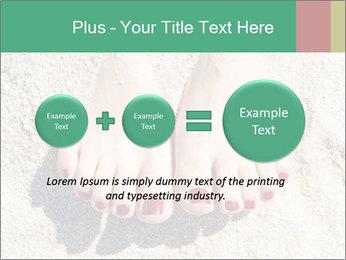 Female feet PowerPoint Template - Slide 75