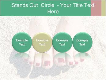 Female feet PowerPoint Template - Slide 76