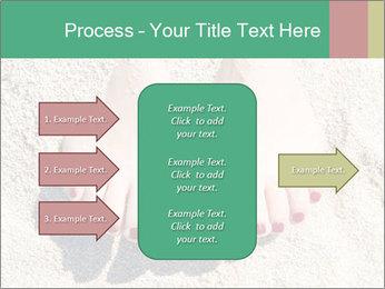 Female feet PowerPoint Template - Slide 85