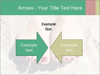 Female feet PowerPoint Template - Slide 90
