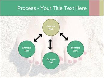 Female feet PowerPoint Template - Slide 91