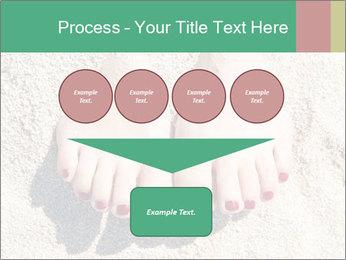 Female feet PowerPoint Template - Slide 93