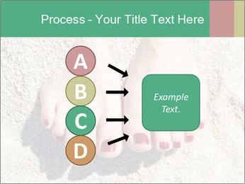 Female feet PowerPoint Template - Slide 94