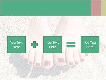 Female feet PowerPoint Template - Slide 95
