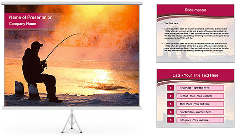 Fishing PowerPoint Template