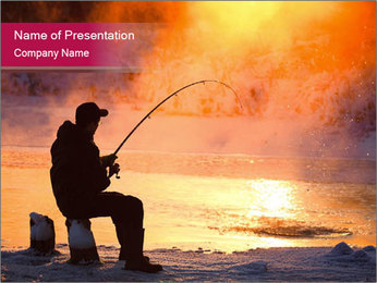 Fishing PowerPoint Templates - Slide 1
