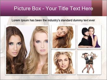 Girl friends PowerPoint Template - Slide 19