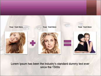 Girl friends PowerPoint Template - Slide 22