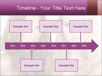 Girl friends PowerPoint Template - Slide 28