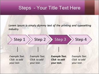 Girl friends PowerPoint Template - Slide 4