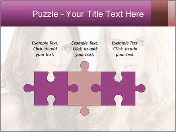 Girl friends PowerPoint Template - Slide 42