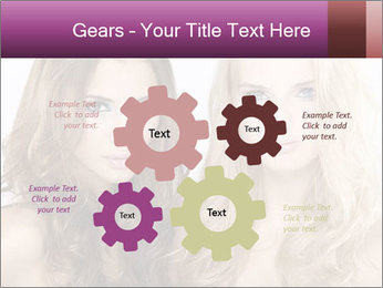 Girl friends PowerPoint Template - Slide 47