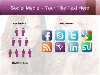 Girl friends PowerPoint Template - Slide 5