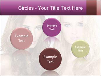 Girl friends PowerPoint Template - Slide 77