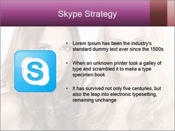 Girl friends PowerPoint Template - Slide 8