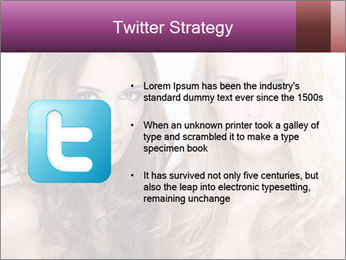 Girl friends PowerPoint Template - Slide 9