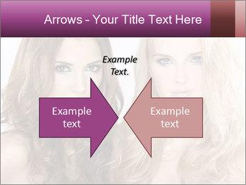 Girl friends PowerPoint Template - Slide 90