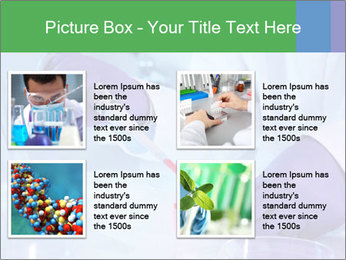 Scientist using pipette in laboratory PowerPoint Template - Slide 14
