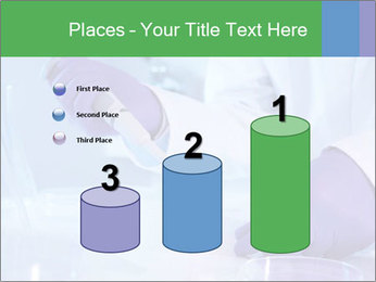 Scientist using pipette in laboratory PowerPoint Template - Slide 65