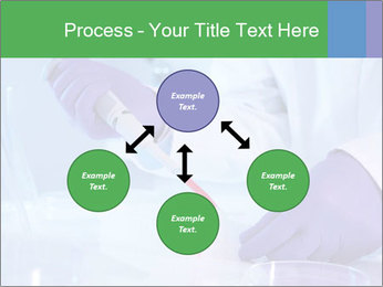 Scientist using pipette in laboratory PowerPoint Template - Slide 91