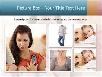 Teenage girl PowerPoint Templates - Slide 19