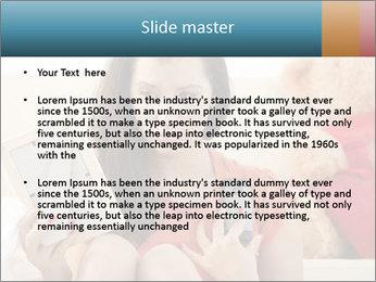 Teenage girl PowerPoint Templates - Slide 2