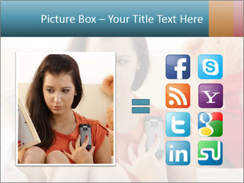 Teenage girl PowerPoint Templates - Slide 21