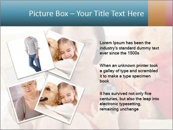Teenage girl PowerPoint Templates - Slide 23