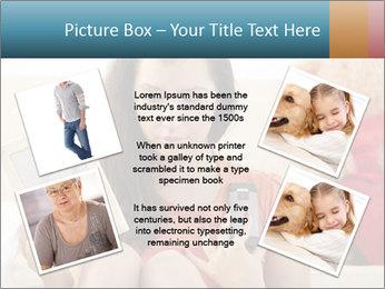Teenage girl PowerPoint Templates - Slide 24