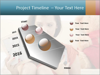Teenage girl PowerPoint Templates - Slide 26