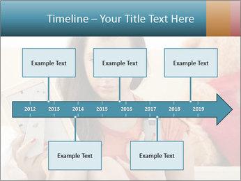 Teenage girl PowerPoint Templates - Slide 28