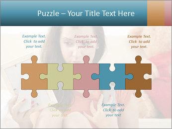 Teenage girl PowerPoint Templates - Slide 41