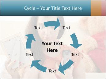 Teenage girl PowerPoint Templates - Slide 62