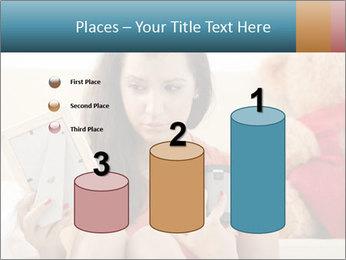 Teenage girl PowerPoint Templates - Slide 65