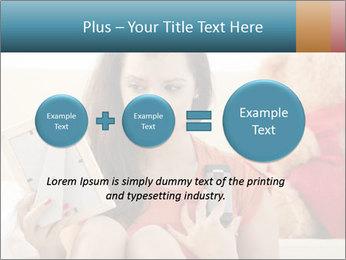 Teenage girl PowerPoint Templates - Slide 75